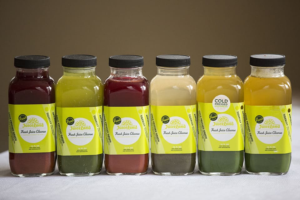 JuiceLand, Juice Cleanse, Austin Juice Cleanses