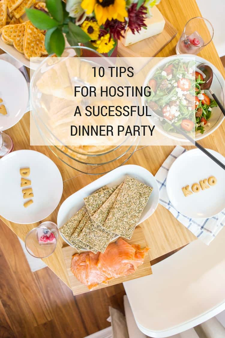 Living Room Decorating Ideas For Apartments For Cheap: 10 Tips For Hosting A Successful Dinner Party