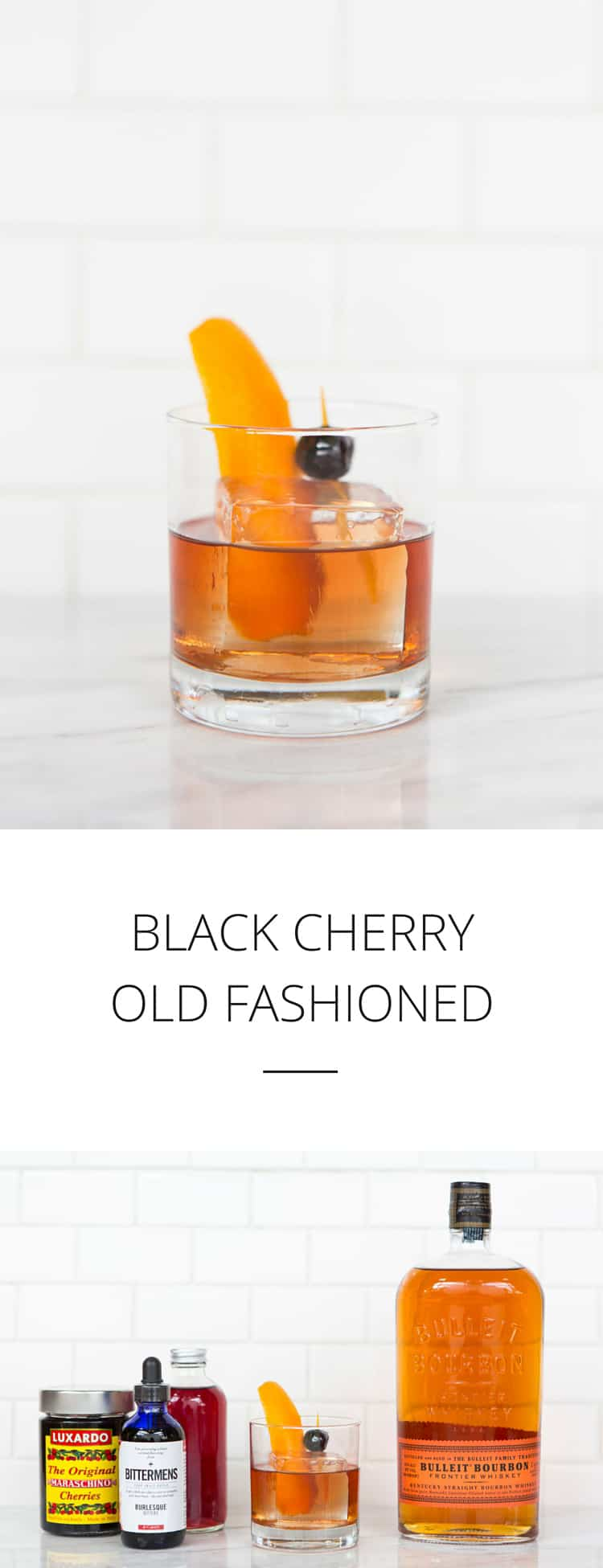 Black Cherries For Old Fashioned