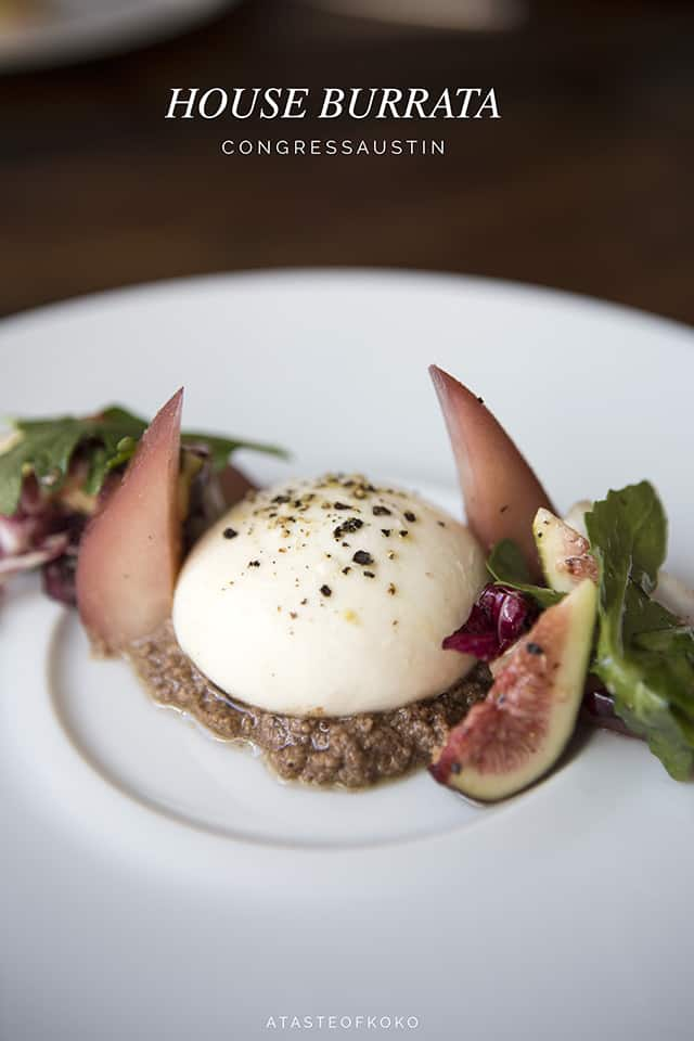 House burrata, Congress