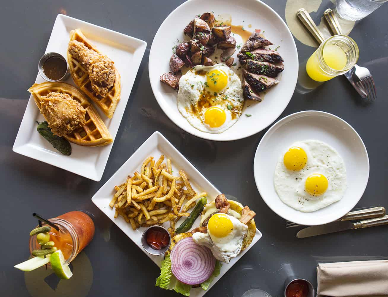 Weekend Brunch At Little Barrel And Brown