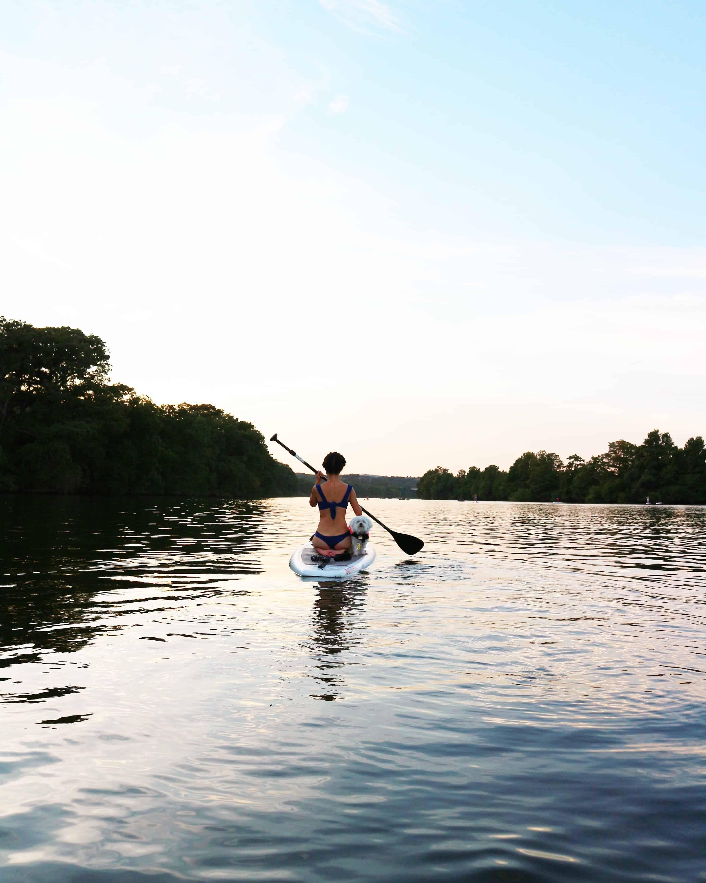Paddle Boarding Lady Bird Lake