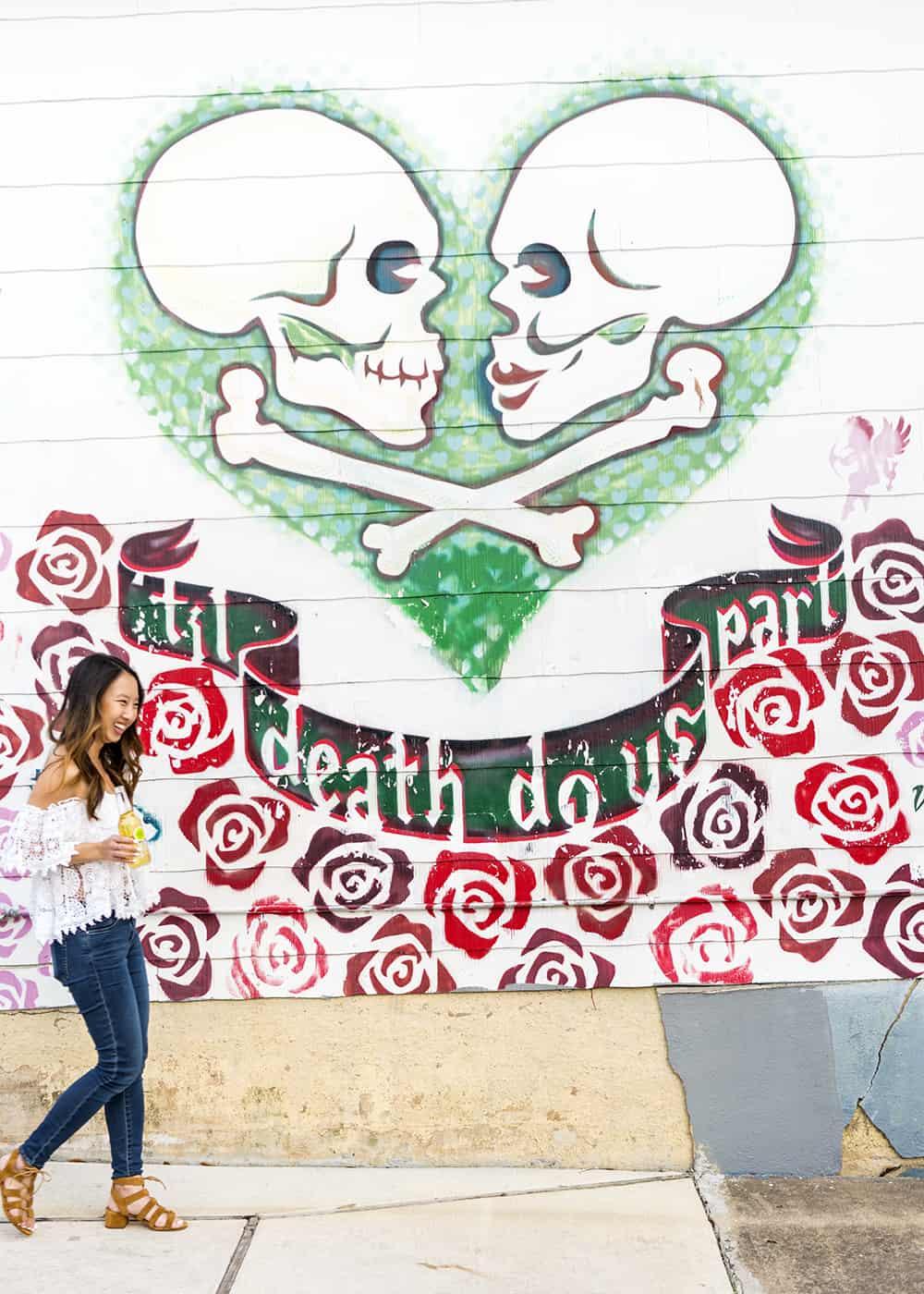 Til Death Do Us Part Mural
