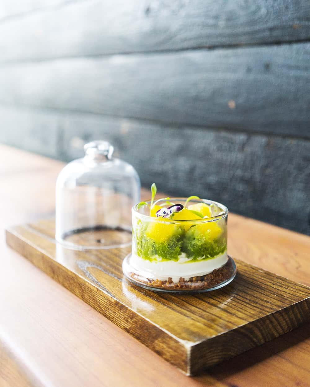 Jasmine Green Dessert