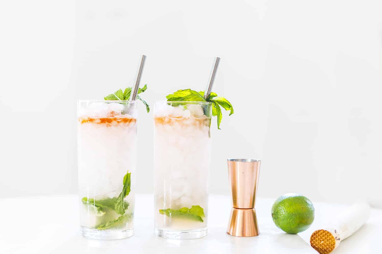 Queen Swizzle Cocktail