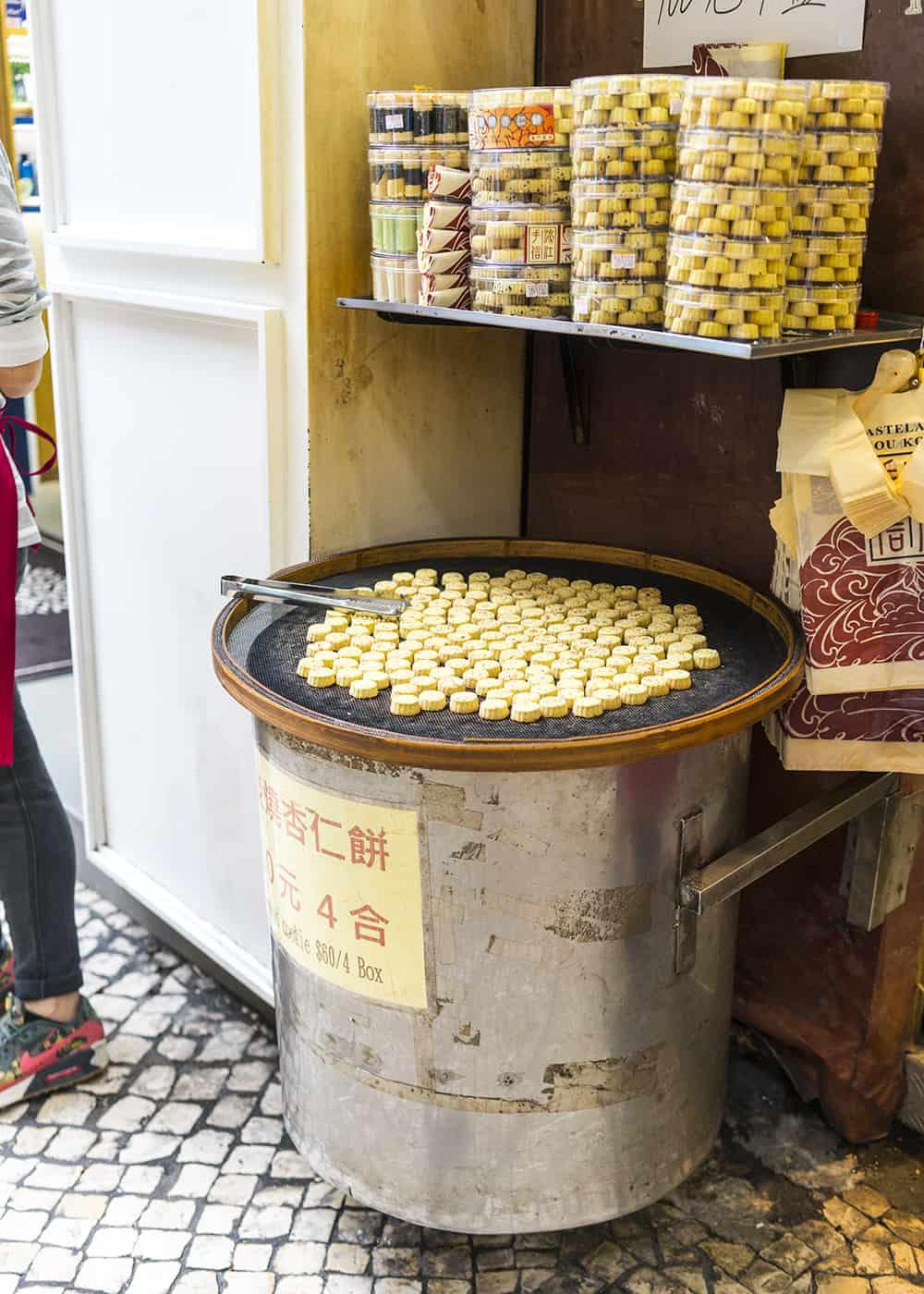 Almond cookie in Hong Kong
