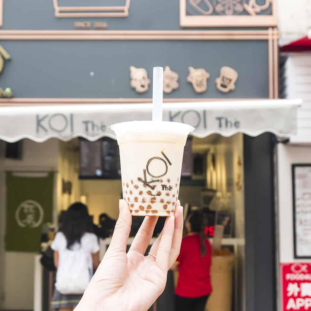 Hong Kong bubble tea