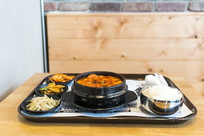Korean tofu pot
