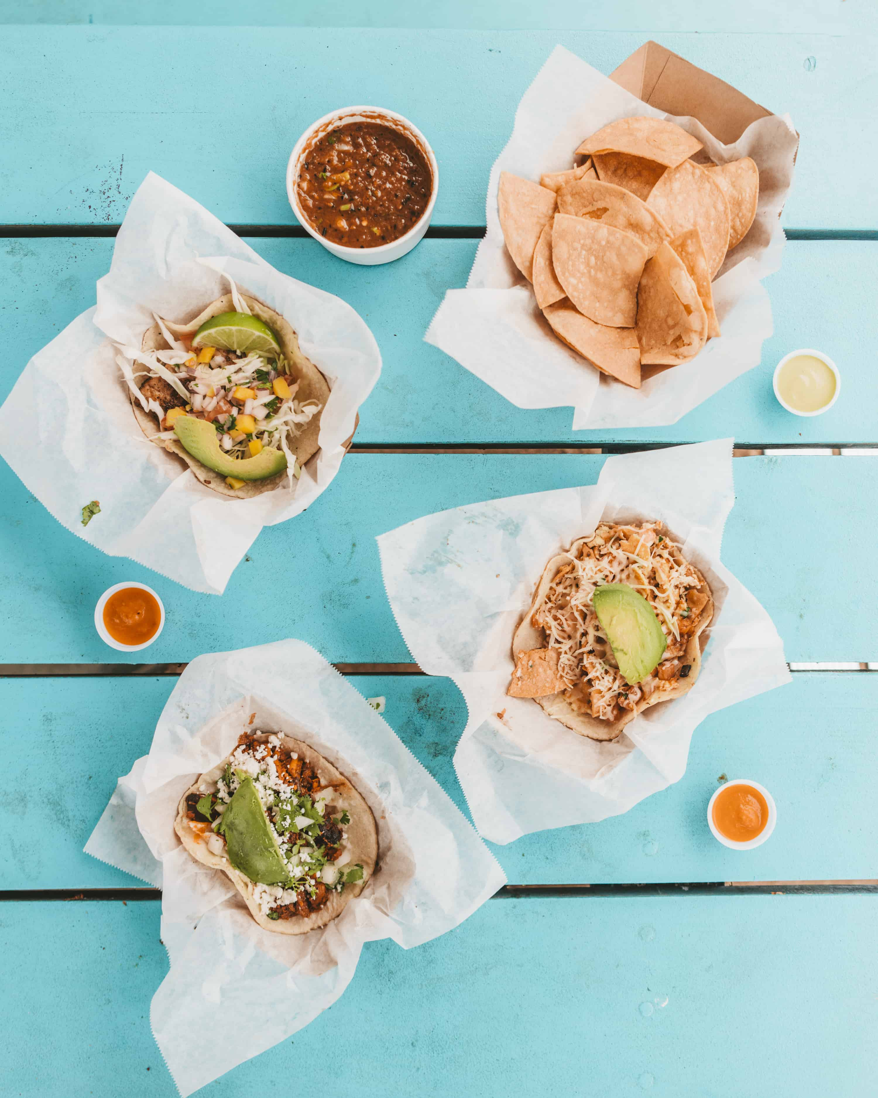 Veracruz Breakfast Tacos in Austin Texas