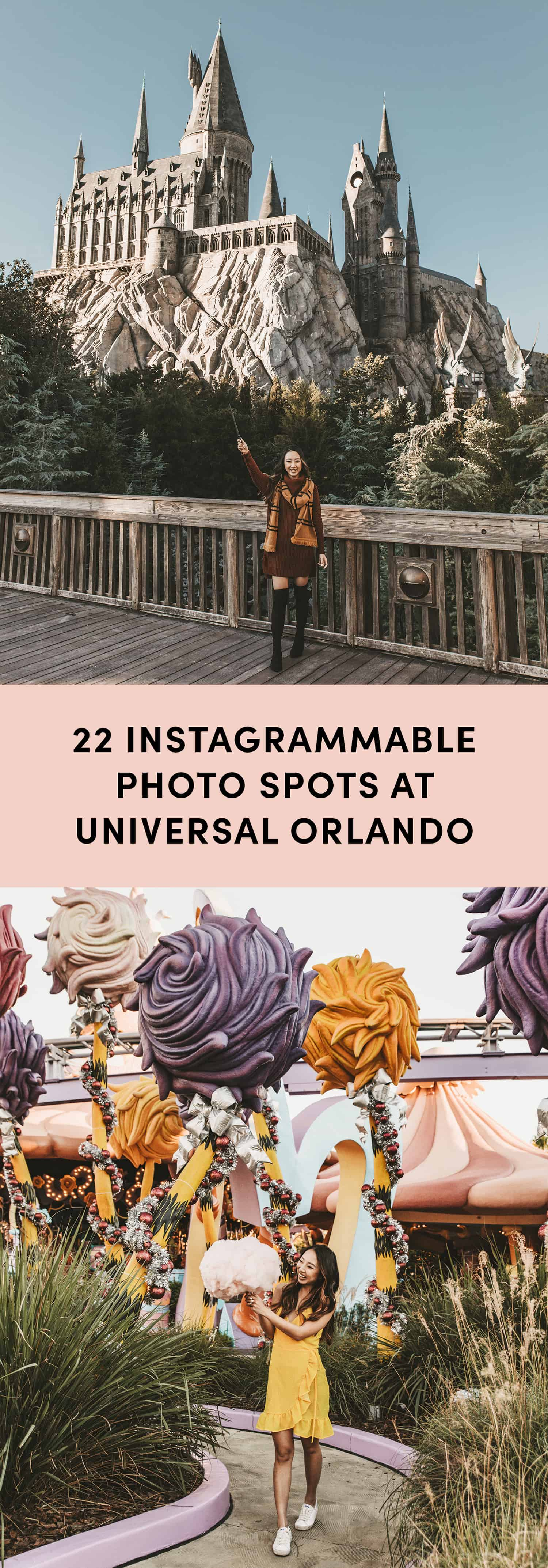 22 Most Instagrammable Photo Spots At Universal Orlando