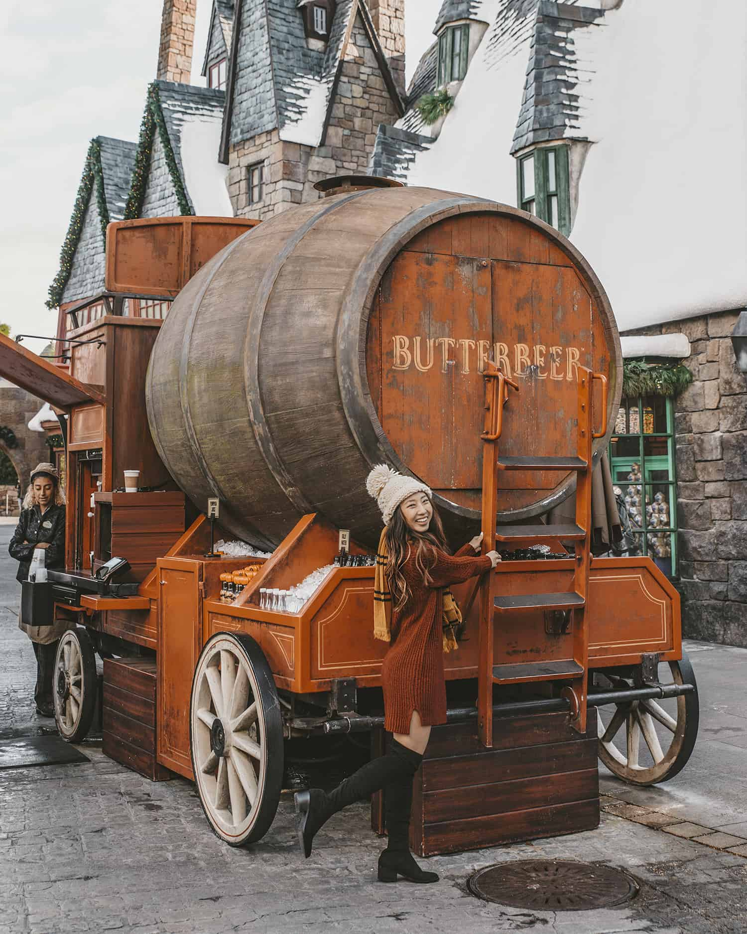 Butterbeer truck at The Wizarding World of Harry Potter