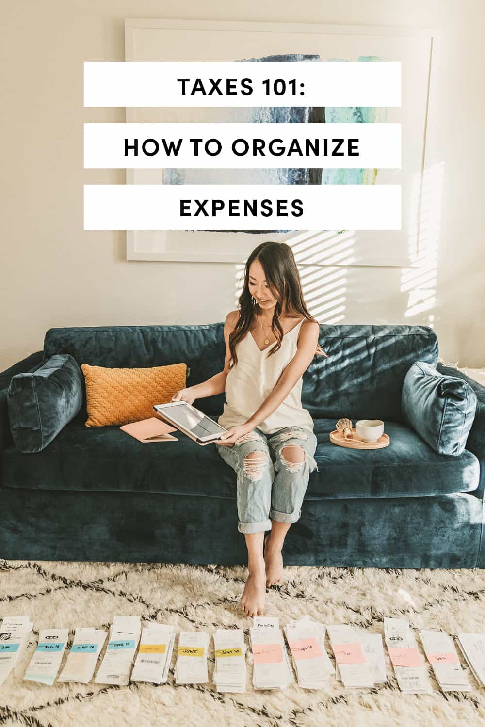 Taxes 101 How To Organize Expenses
