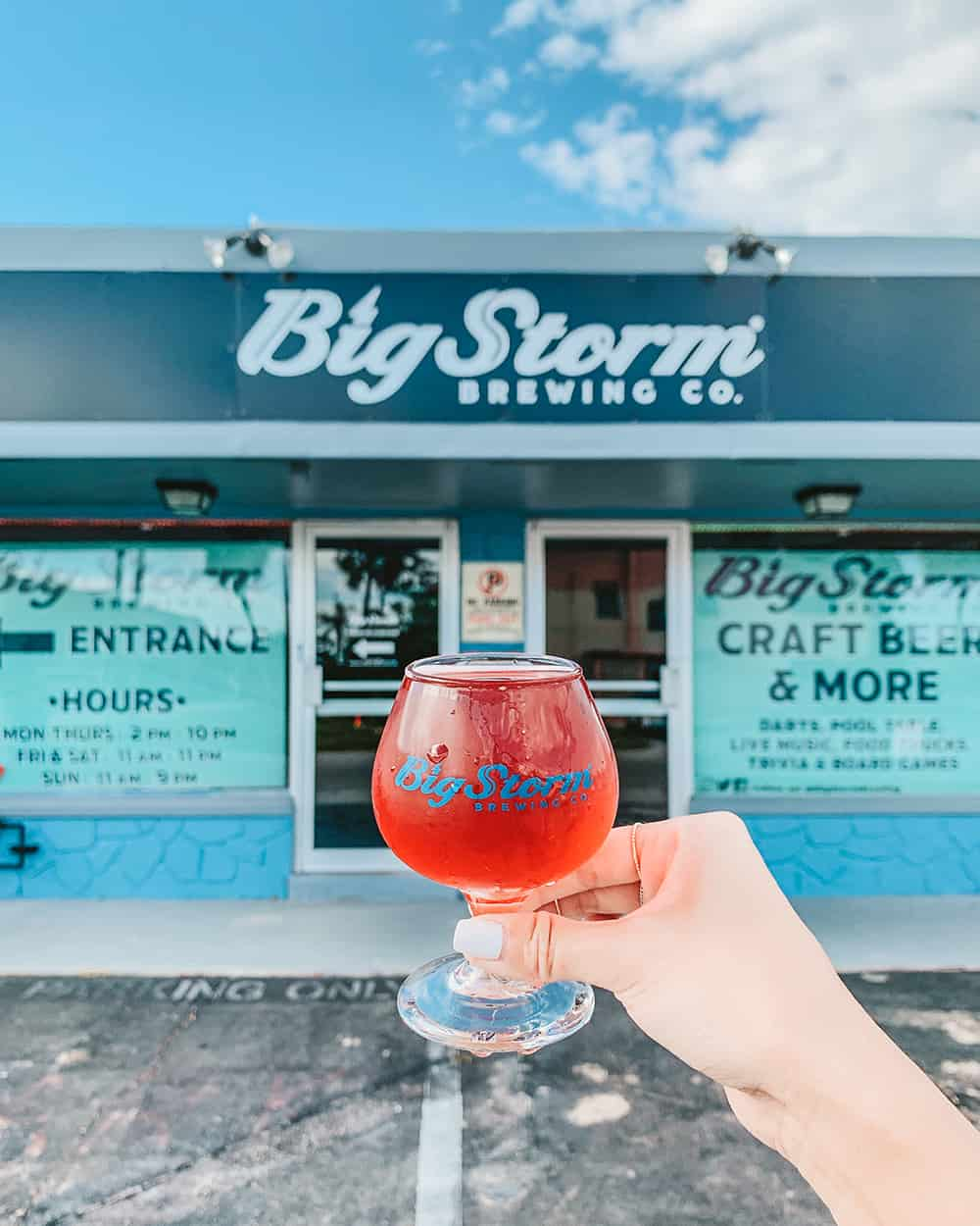 Big Storm Brewing Co in Fort Myers Florida
