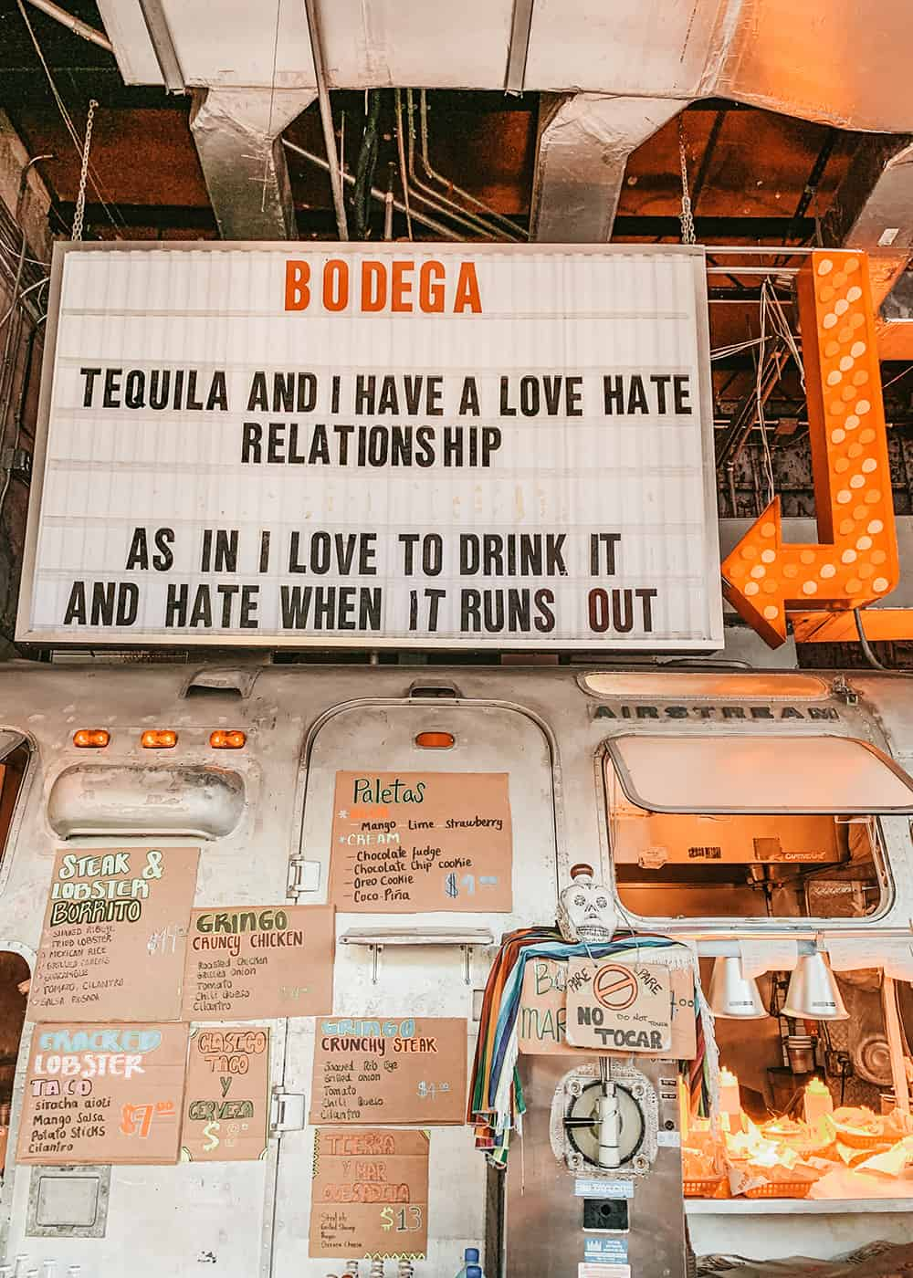 Bodega Taqueria y Tequila in South Beach Miami
