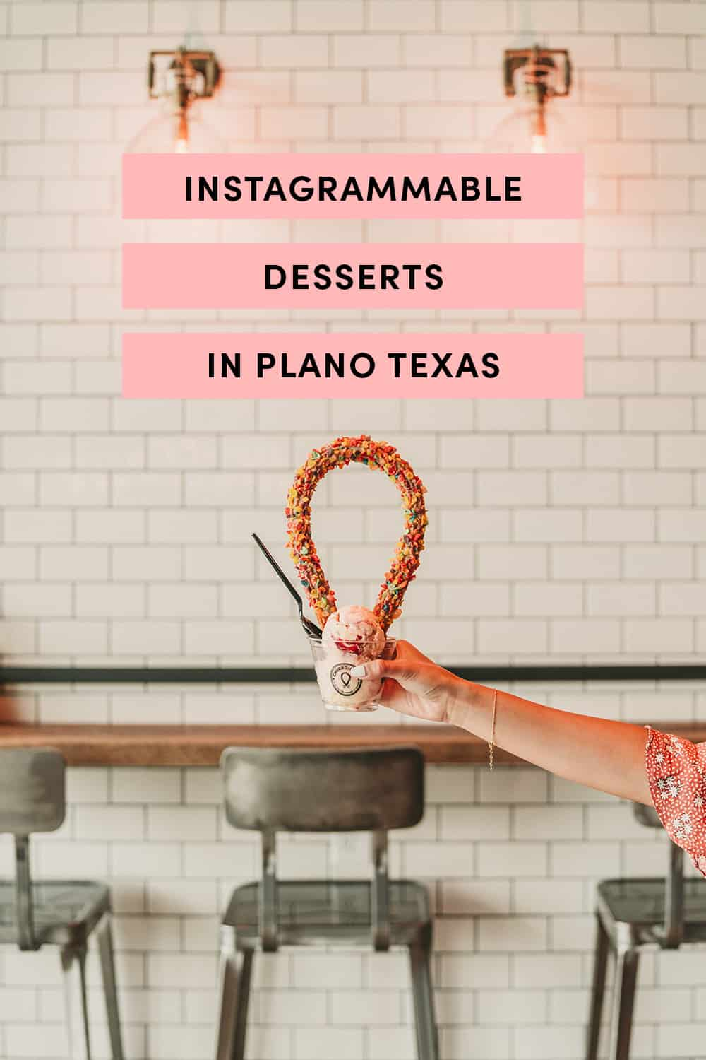 Instagrammable Desserts in Plano Texas