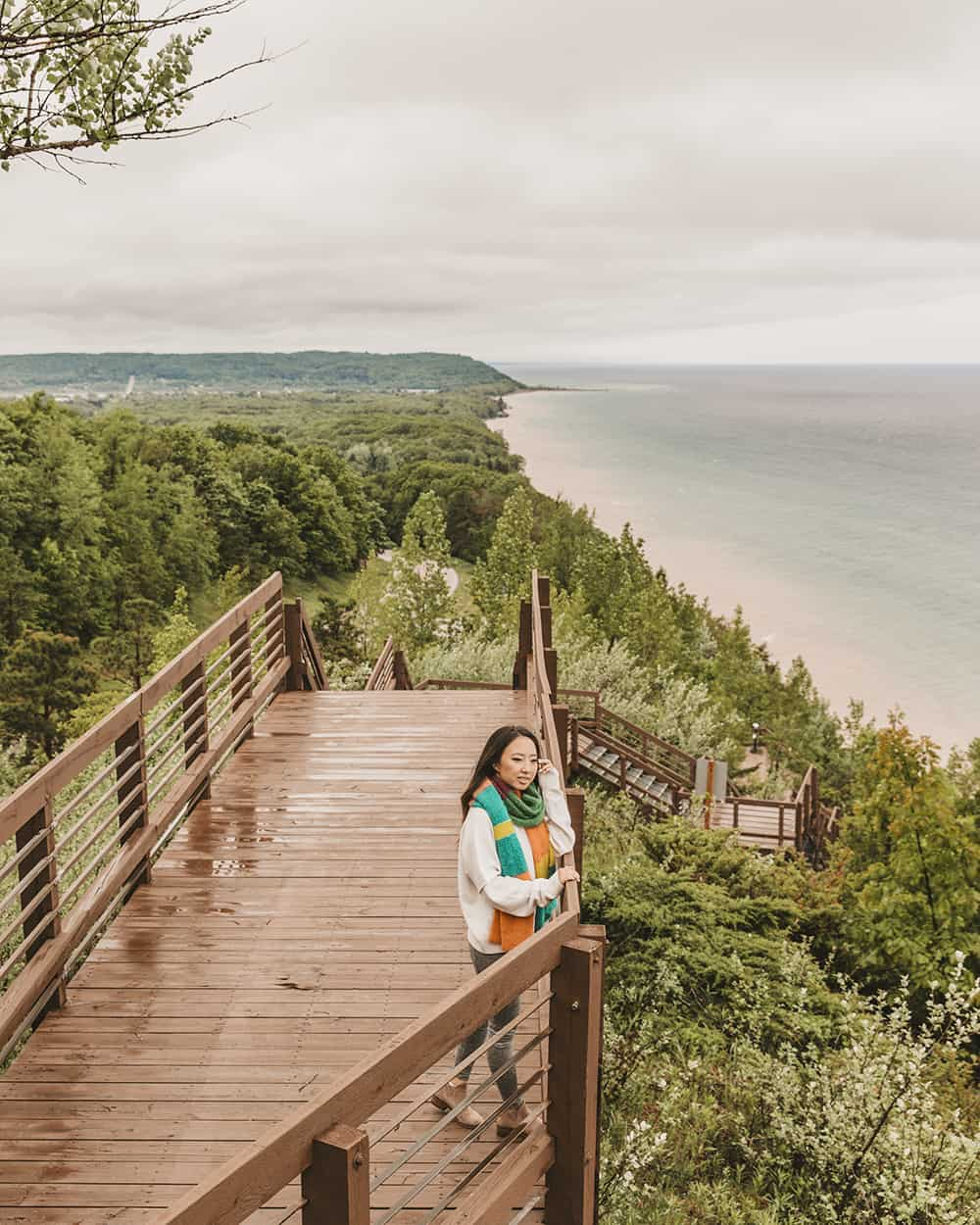 Arcadia Overlook in Manistee, Michigan