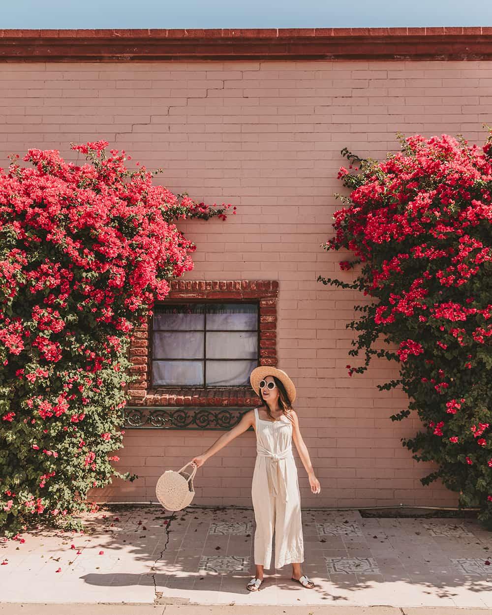 Linen jumpsuit in Tempe Arizona